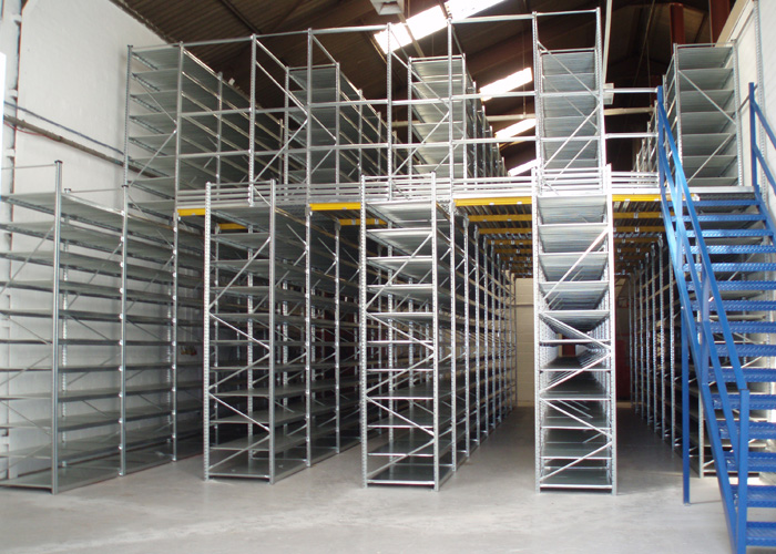 2 Tier Warehouse Shelving