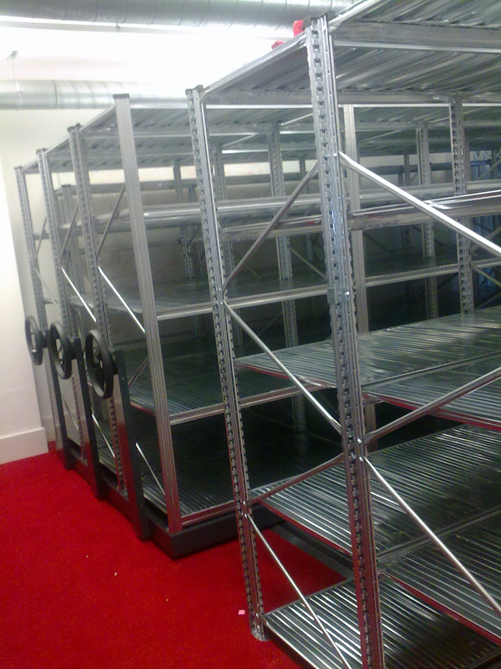 Image of Mobile Shelving