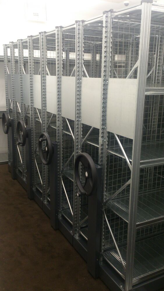 Image of Mobile Shelving Retail Shelving Warehouse Shelving