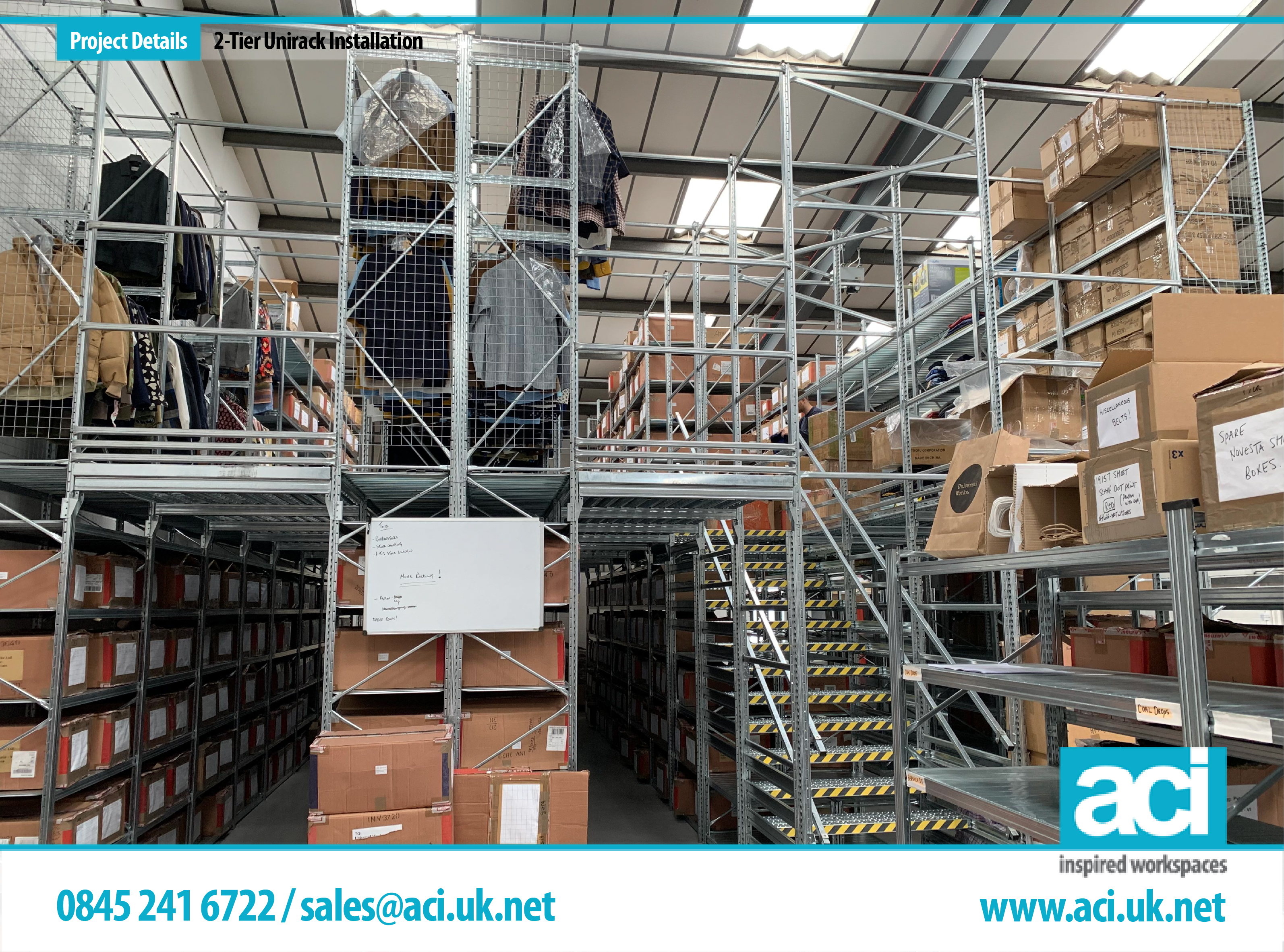 Image of 2 Tier Shelving Retail Shelving