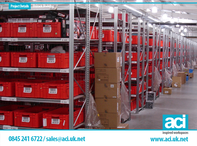 Image of Unirack Shelving Warehouse Shelving